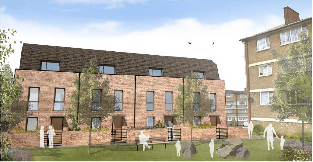 Lewisham Homes Cast Study new houses